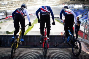 Great Britain Cycling Team BMX Training