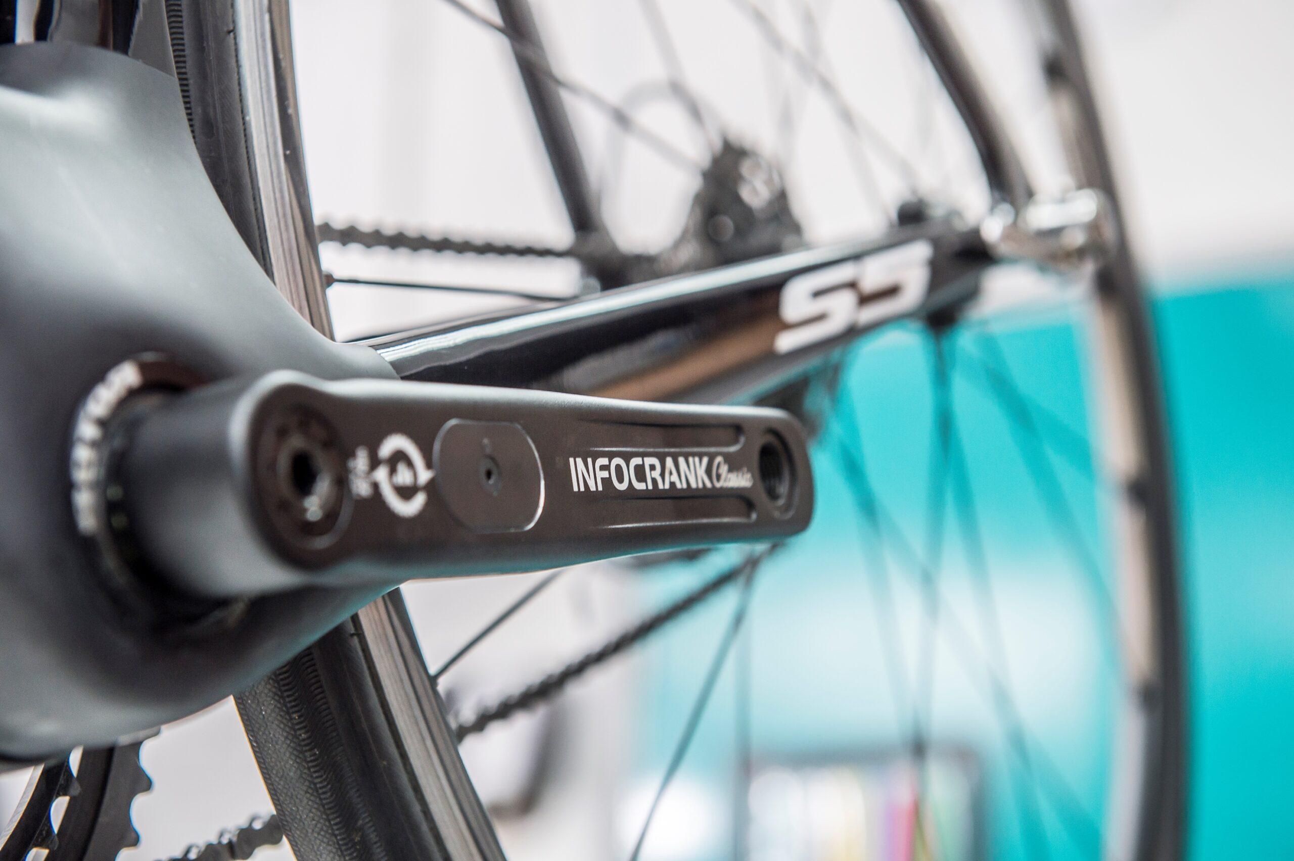 British Cycling Verve Cycling InfoCrank
