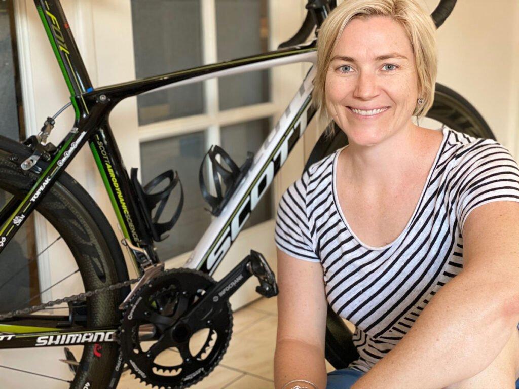 Anna Meares & Infocrank Power Meter