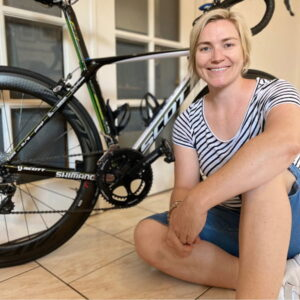 Infocrank power meter for cyclists - experience Anna Meares