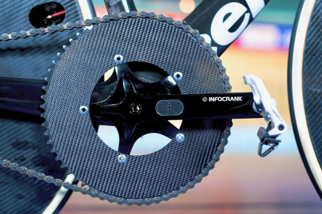 Track Crank Infocrank Cycling Power Meter