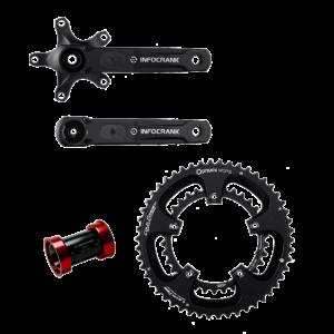 Infocrank Power Meter for Cycling Ceramic Set