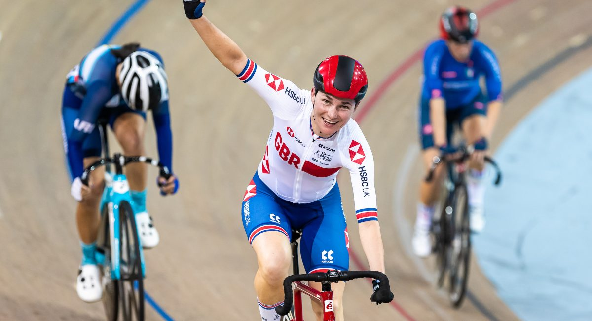 Picture by Alex Whitehead/SWpix.com - 01/02/2020 - Cycling - UCI Para-Cycling Track World Championships - Mattamy National Cycling Centre, Milton, Canada - Women C5 Scratch Race Final, Gold - Great Britain's Sarah Storey.