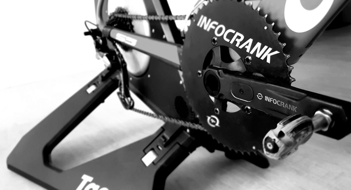 Anne Haug Indoor Cycling Training Infocrank Cycling Power Meter
